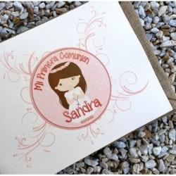 Libro de Comunión Sandra