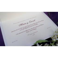 Invitación ML0207
