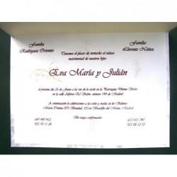 Invitación EMJ1527