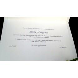 Invitación AG1405