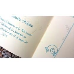 Libro de Comunión Soraya